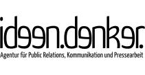 Logo von ideen.denker. Ihrer PR und Presseagentur aus Stuttgart www.ideendenker.de