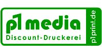 Logo von p1 media Discount-Druckerei by p1Print.de aus Stuttgart www.p1print.de